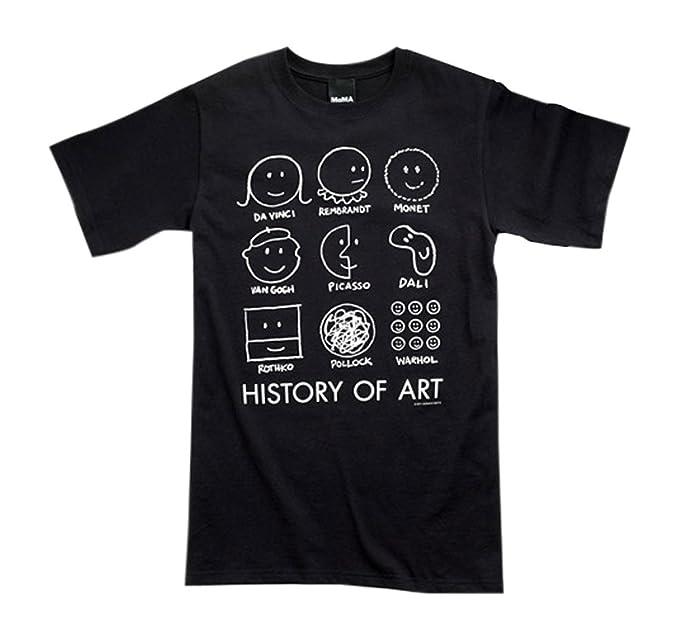 Amazon.com: Historia del Arte playera Donald Seitz Moma ...