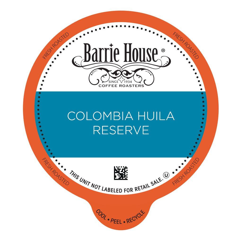 Barrie House Colombia Reserve Coffee Capsules (72 capsules): Amazon.com: Grocery & Gourmet Food