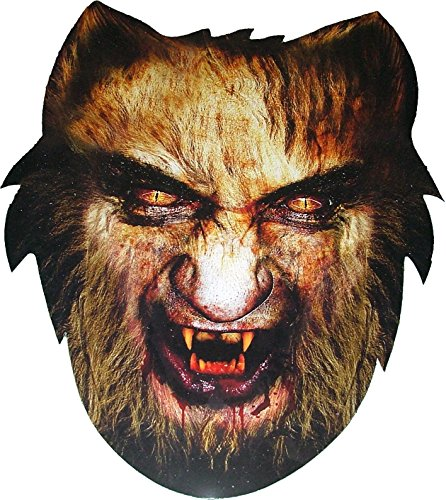 Warewolf Masks (Halloween Warewolf - Scary Card Face Mask)
