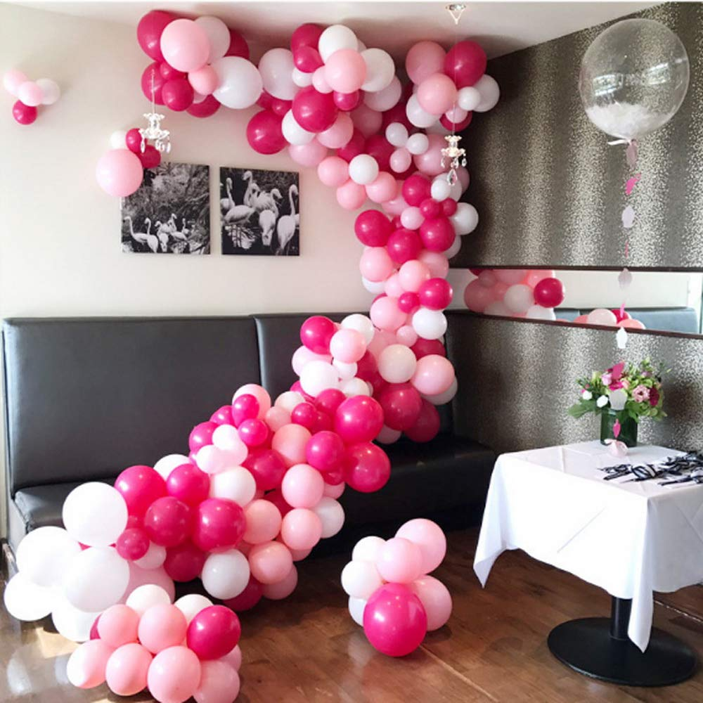 5m Band für Ballon Girlande Kette Luftballon Geburtstag Hochzeit Party Dekor