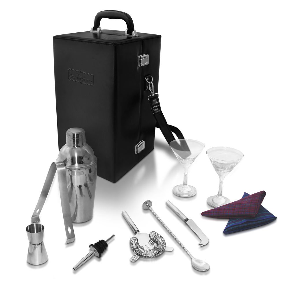 De Lux Cosmopolitan Travel Cocktail Set, Booze Box by De Lux Cosmopolitan (Image #4)
