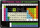Periodic Table Of the Elements Desk Mat Blotter, Desk Pad 14'' x 20'' , Laptop Mat for office and home, Educational School desk mat