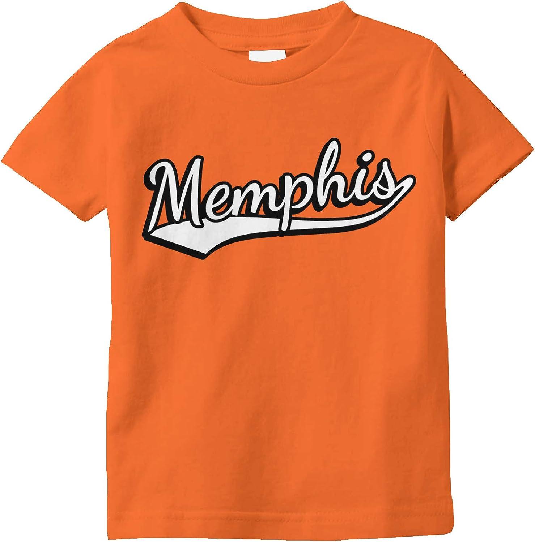 Tennessee Toddler Raglan Shirt Amdesco Memphis