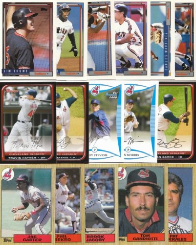 Cleveland Indians / 1000 Indians Baseball Cards - All Dif...
