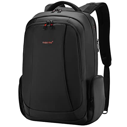 c692cc1869 Tigernu Business Laptop Backpack Slim Anti Theft Travel Computer Backpacks  Environmentally Waterproof Laptops Bag For Men Women 15.6Inch Black  ...