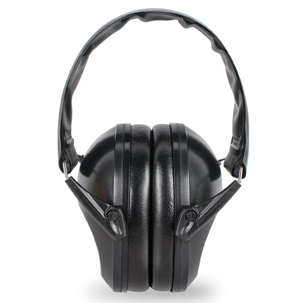 vinmax Earmuff Tactical Hearing Protection Headband Outdoor Hunting Shooting Range Ear Defenders Sport Camping Supplies Noise Ear Muffs 21DB Color Black