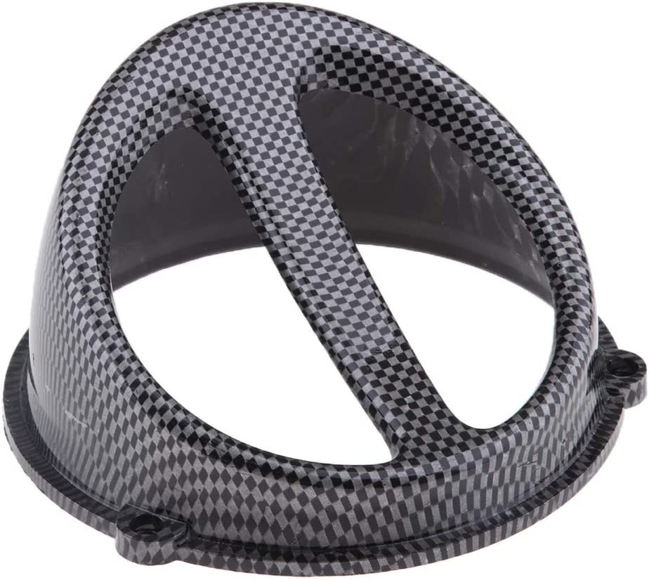 Carbon Fiber High Performance Racing Air Scoop Hood Cap Fan Cover for GY6 125cc 150cc Motorcycle Scooter 152QMI 157QMJ
