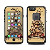tattoos removable pirates - Skin for Lifeproof iPhone 6 Case (skins/decals only) - Pirate Ship Tattoo Style Sailor Ship Boat