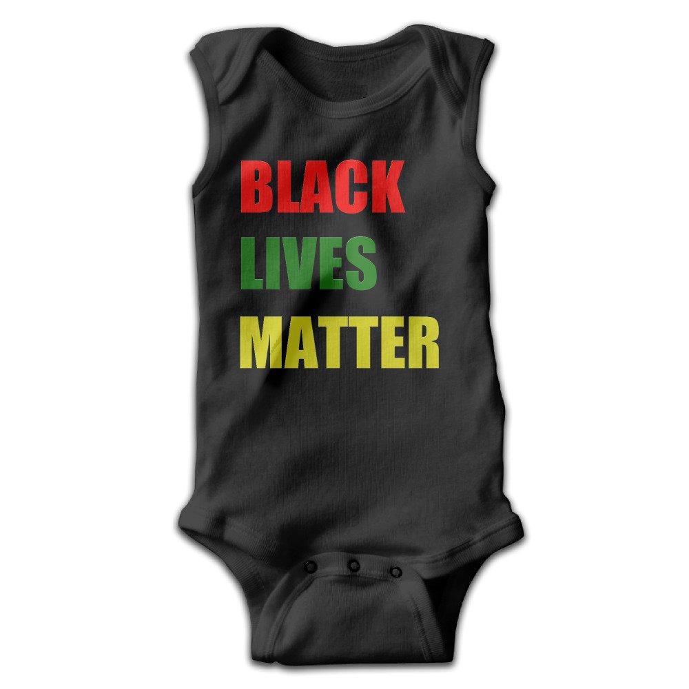 MasakoJMassie The Boondocks Newborn Baby Sleeveless Babies Cotton Infant Undershirts Bodysuit Black