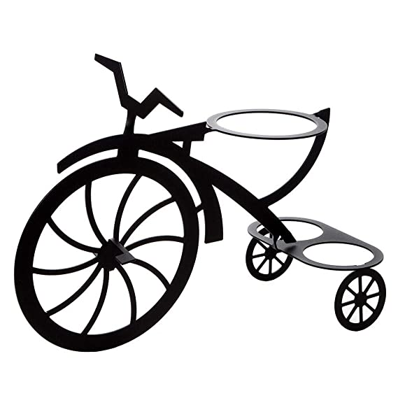 Amazon.com: Lilys Home - Soporte para macetas de bicicleta ...