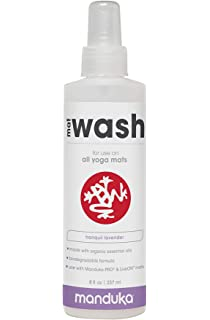 Amazon.com: ASUTRA Natural & Organic Yoga Mat Cleaner ...