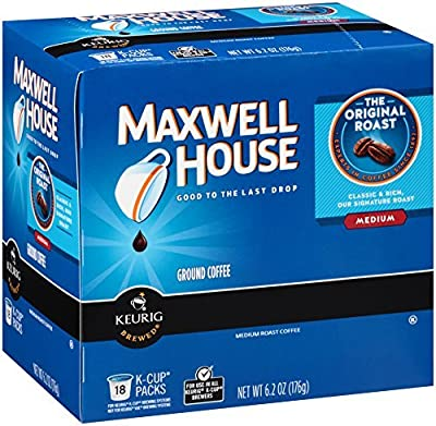 MAXWELL HOUSE Coffee, K-CUP Pods
