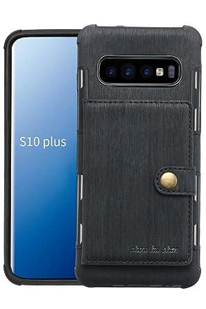 Amazon.com: Funda tipo cartera para Samsung Galaxy S10 Plus ...