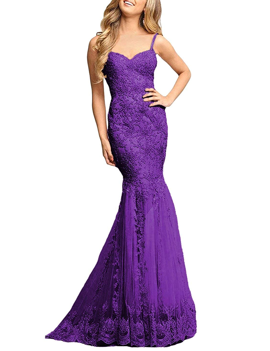 Ruisha Women Lace Beaded Off Shoulder Formal Prom Evening Dresses Gowns Long Mermaid 2018 RS0046