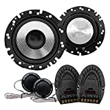 Earthquake Sound FC6.2 Focus 2-Way 600 Watts 6.5'' Component Speaker System 600W