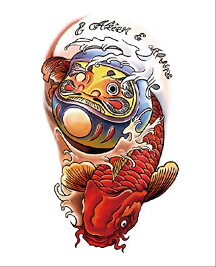 Tatuaje calcomanía brazo impermeable carpa de simulación masculina ...