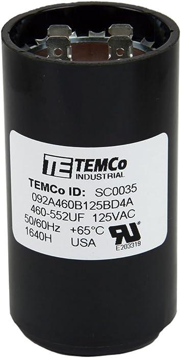 HI TORQ CSP-708 708-850 MFD 110 VAC 60 HZ CAPACITOR