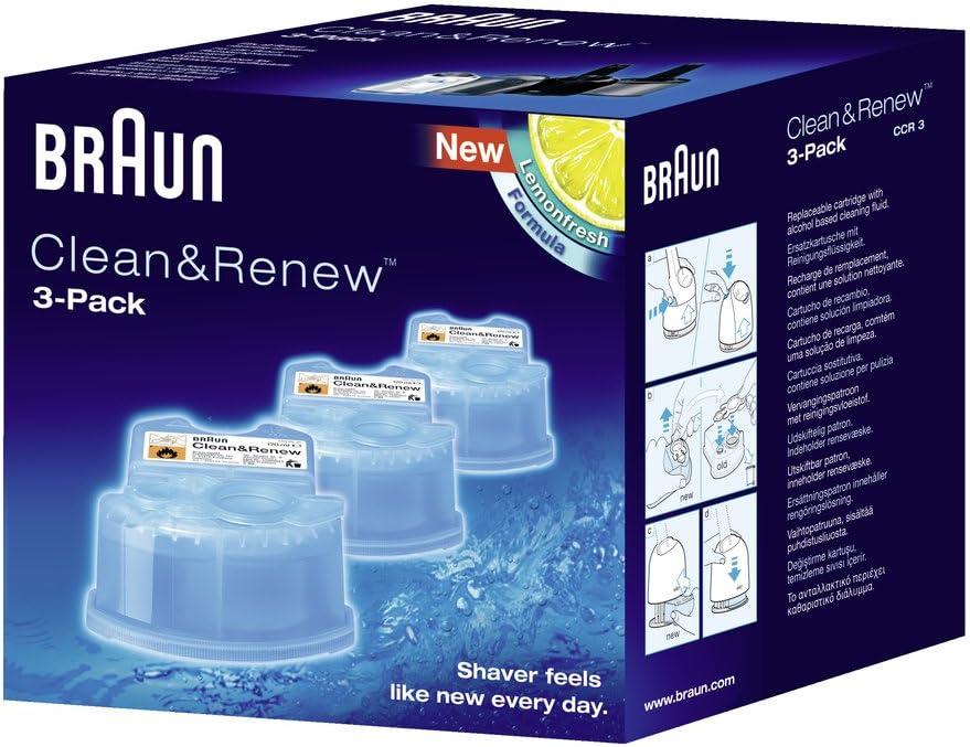 Braun Máquina de afeitar Clean&Renew (3)