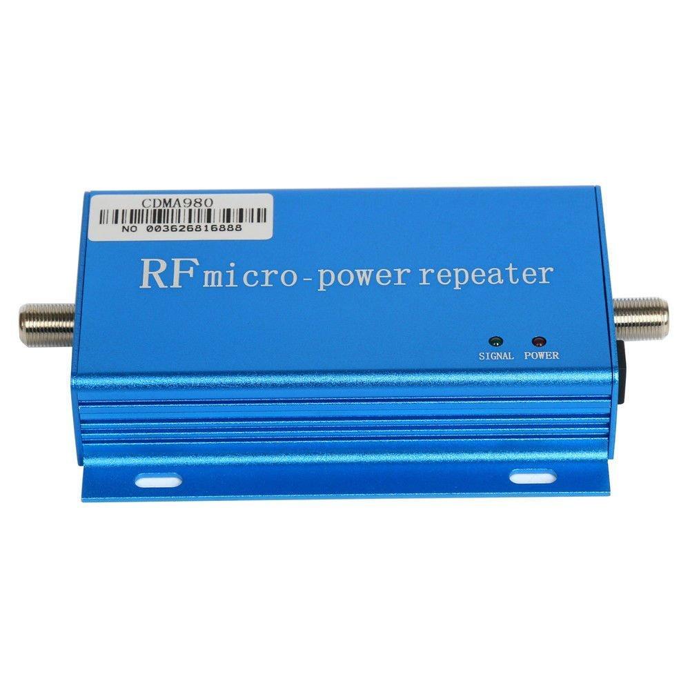 CDMA 850MHz Cell Phone Signal 3G Repeater Booster Amplifier Extender Yagi Antenna Kit