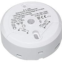 Transmedia LT5-3L halogeentransformator 230/12V/35-105W, bescherming tegen overbelasting, temperatuurbeveiliging, niet…