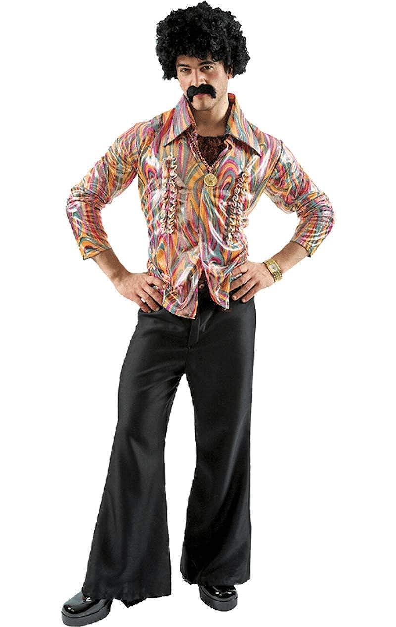 ORION COSTUMES Disfraz de Bailarín de Disco Hippie de los ...