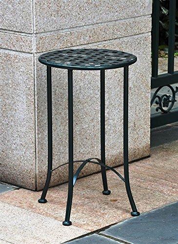 n 523706-OG-145539-O-783249 Iron Patio Side Table, 16