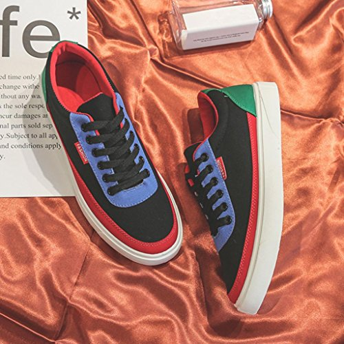Shoes Casual Shoes Women's Shoes Men's Men's Stitching Lacing 41 Shoes Spring Luoluoluo Outdoor Black Sports Shoes amp; Travel Shoes Women's AtqY7YPwz