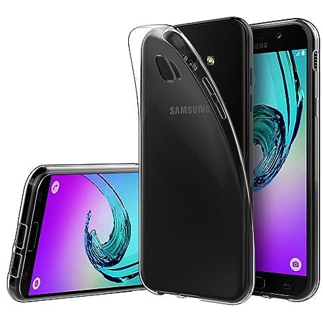 Funda Samsung galaxy A5 2017,Anjoo Transparente Silicona TPU ...