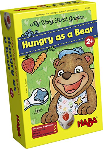 HABA My Very First Games - Hungry as a Bear - A Memory & Dexterity Game for Ages 2 and Up Haba Memory Game