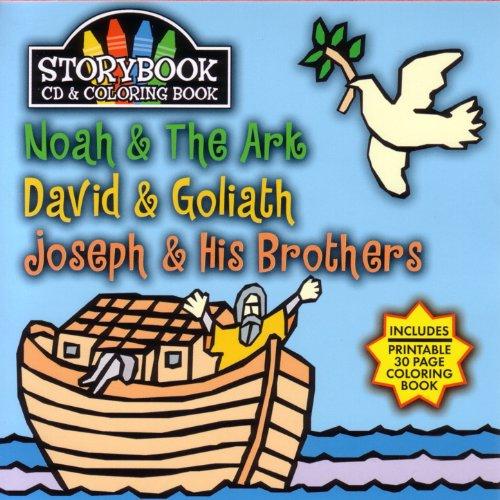 Ark Music Book - Story Book Cd & Coloring Book: Noah & The Ark, David & Goliath, Joseph & Hi