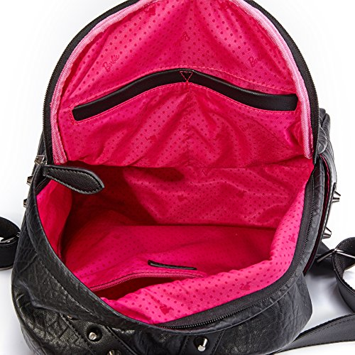 Barbie mochila simple elegante para mujeres bolso princesa moderno mochila al hombro multifuncional bolso fino para chicas 3