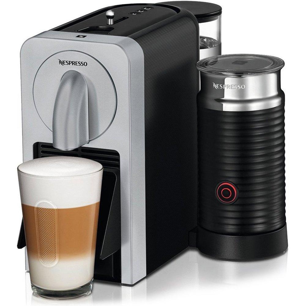 Nespresso D75-US-SI-NE Prodigio With Milk Espresso Maker, Silver by Nespresso (Image #1)