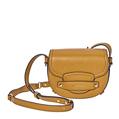de96dd0b1745fa Image Unavailable. Image not available for. Color: Michael Kors Cary Small Saddle  Crossbody ...