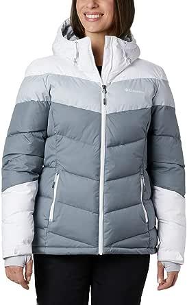 Columbia Abbott Peak Insulated Chaqueta De Esquí Con Capucha Mujer