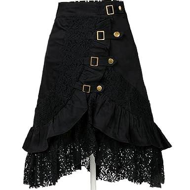 0a48d7a52e0 Limsea Women Fishtail Skirt Vintage Irregular Punk Style Retro Mermaid  Split Bow Bandage Leopard Printing