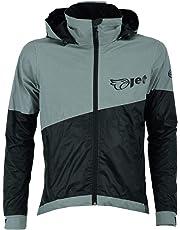 Jet Ultra Hi Vis 360 Reflective Outdoor Cycling Jacket Waterproof Breathable Windproof