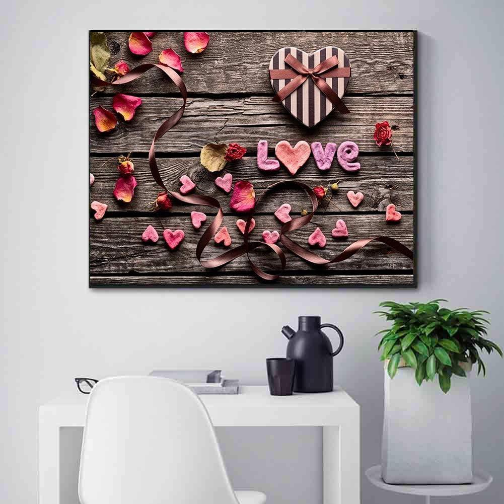 Sunnay DIY 5d Diamante Kit de Pintura,Artesan/íA Bordada Llena del Rhinestone del Bordado Cristalino de Los Artes para La Decoraci/óN Casera de La Pared,La flor,30X40cm