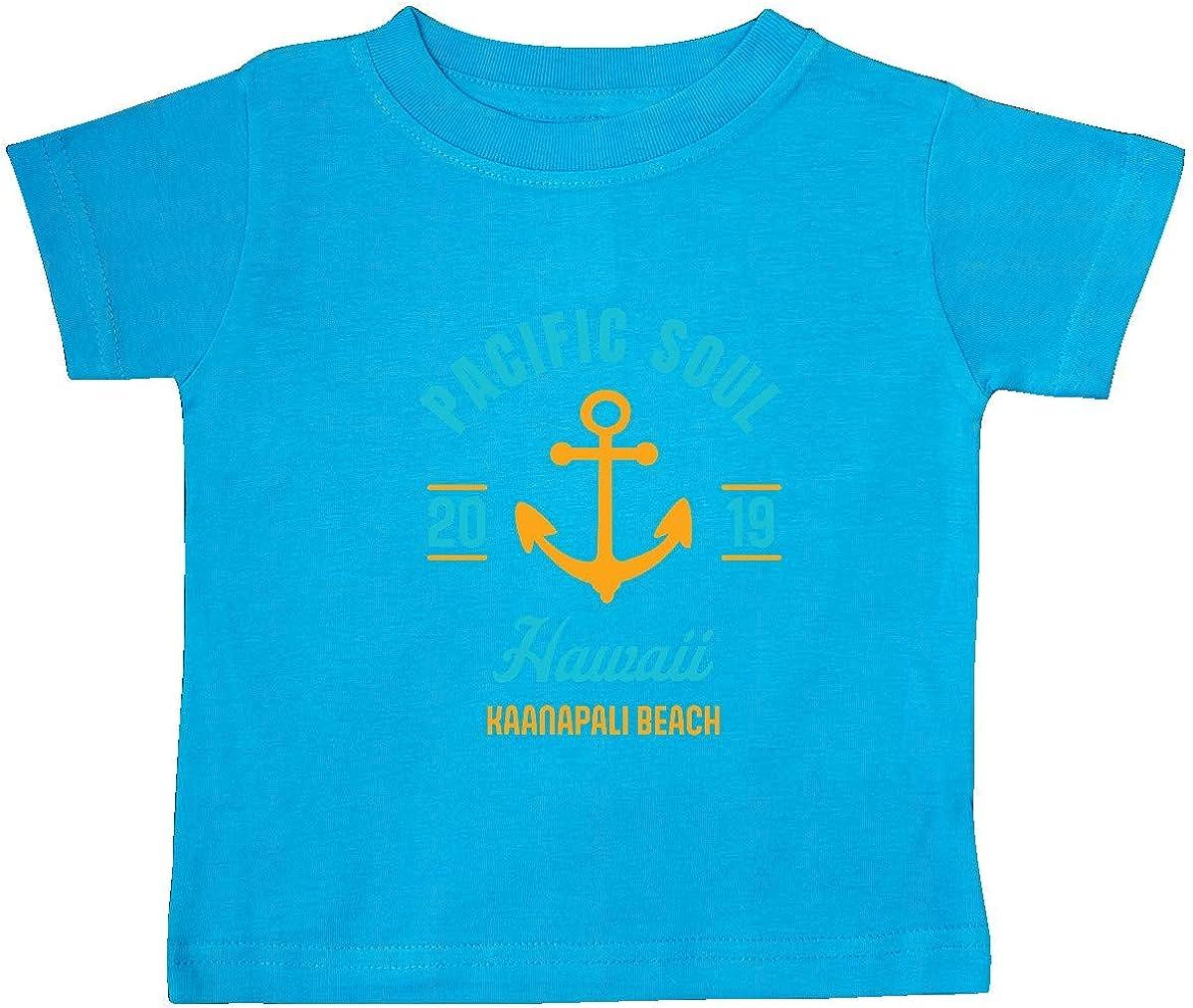 inktastic Pacific Soul Hawaii Kaanapali Beach 2019 with Anchor Baby T-Shirt
