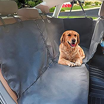 Siivton Pet Car Seat Covers, 2 In 1 Dog Seat Cover Hammock For Back Or