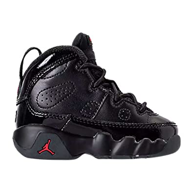 "78fcbb0898e Jordan Retro 9""Bred Black/University Red (Toddler) (7 M US"