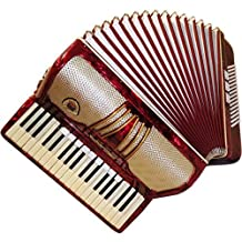 Spranger Amoretta Piano Accordion, 96 Bass 12 Switches, Rare German Keyboard Acordian, Case 350