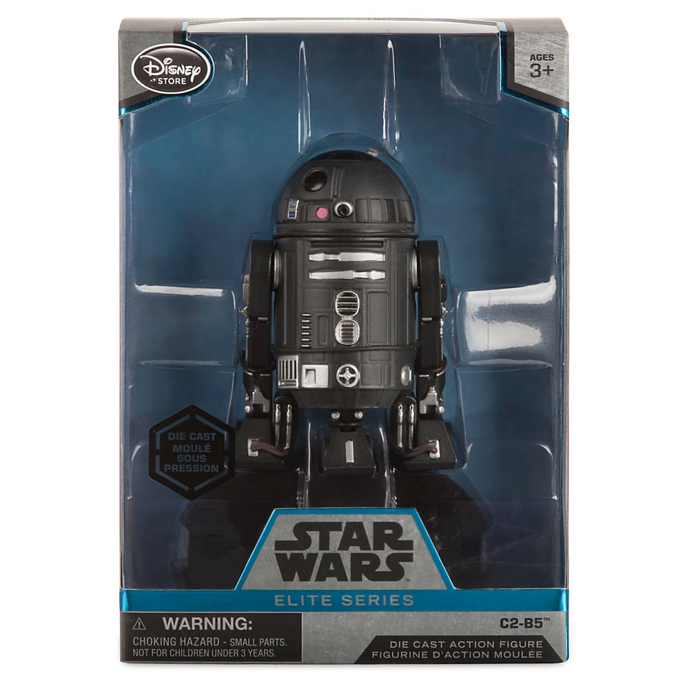 Rogue One A Star Wars Story Disney 461011621217 4 1//2 Inch Star Wars C2-B5 Elite Series Die Cast Action Figure