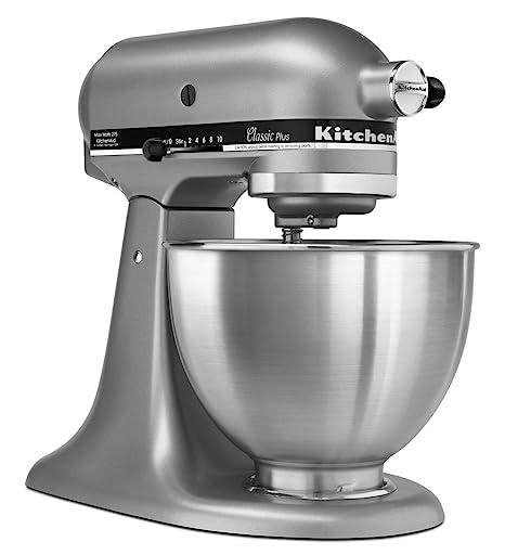 Incredible Kitchenaid Ksm75Sl Classic Plus 4 5 Qt Tilt Head Stand Mixer Silver Download Free Architecture Designs Xerocsunscenecom