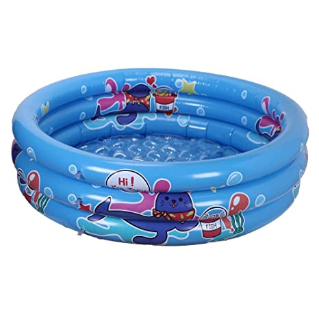 Amazon.com: WenYing Inflatable Swimming Pool Kids 120CM ...