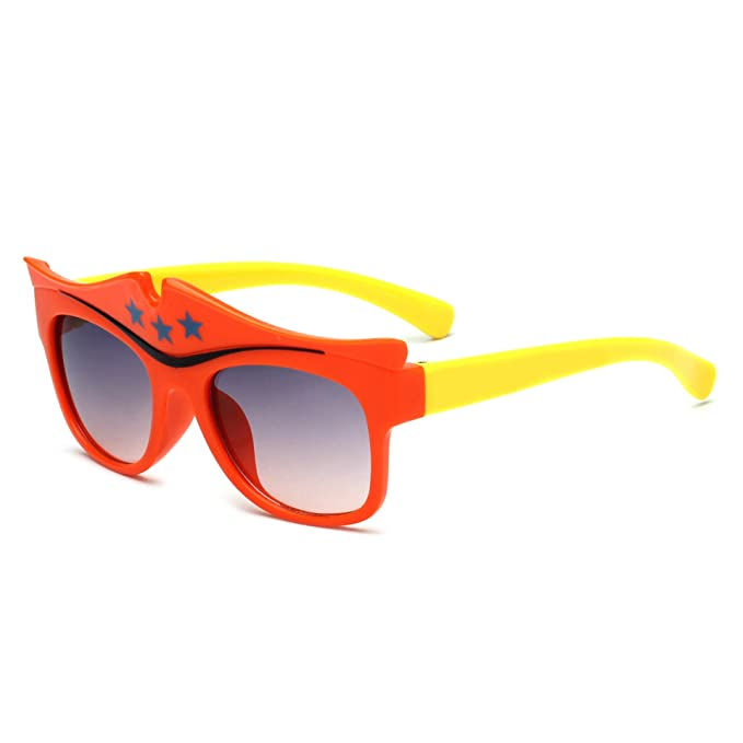 Amazon.com : XUEXIN Sunglasses for Child, Cartoon round ...