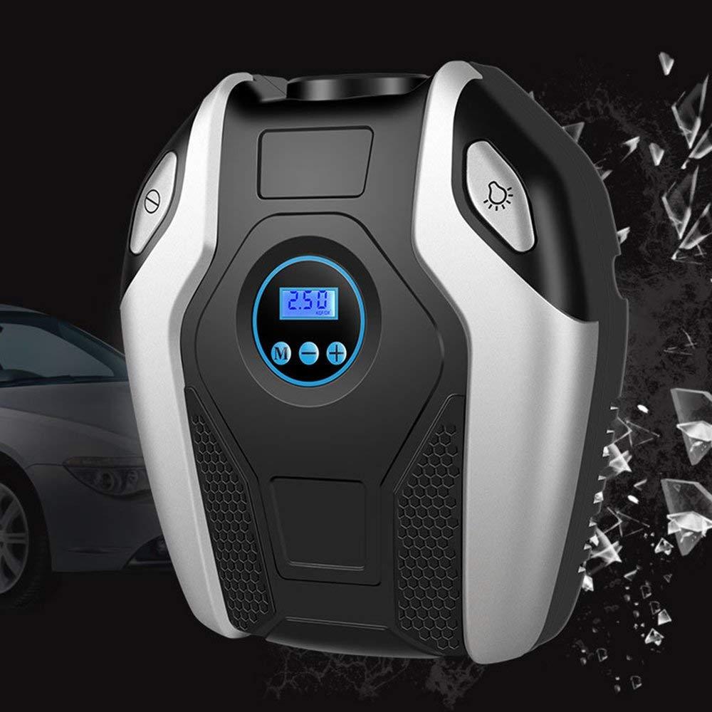FDBF Digital Display Car Bicycle Inflatable Pump Air Compressor Portable 12V Automobile Bike Tire Inflator Mini Electric Pump