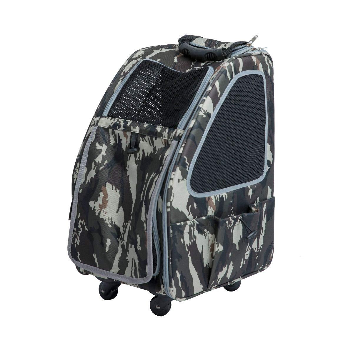 PETIQUE PC01020103 Pet Stroller, Army Camo, One Size