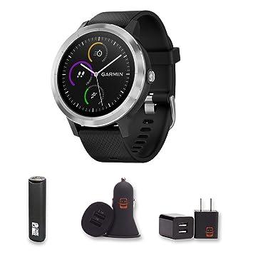 Garmin Vivoactive 3 GPS Smartwatch PowerBank, Cargador de ...