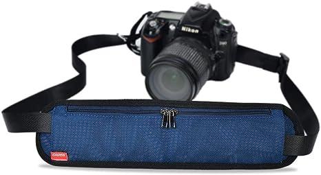 Correa de cuello de neopreno cámara para Canon EOS Nikon Sony Pentax DSLR SLR