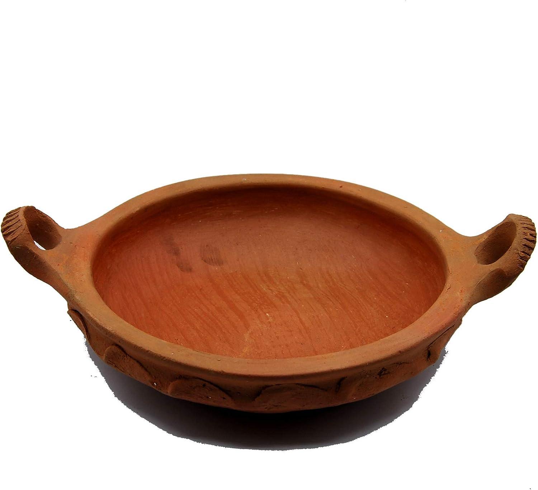 Etnico Arredo Tajine Tagine Marmite en Terre Cuite Plate Marocaine diam/ètre 23 1308190906